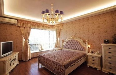 简欧风大宅设计案例欣赏卧室