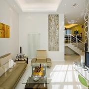 现代清新风格沙发背景