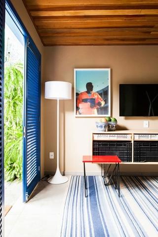 缤纷彩色简约住宅欣赏卧室