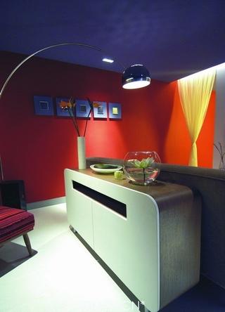 现代一居公寓吧台