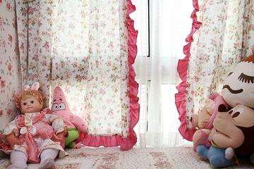 86平地中海三居室欣赏卧室摆件