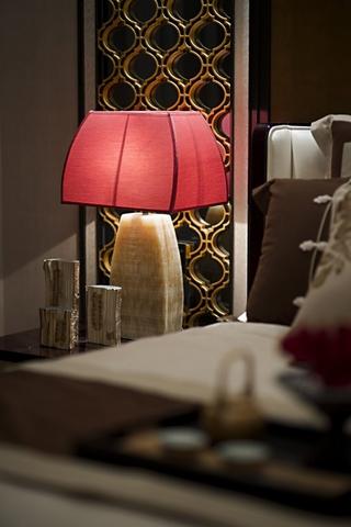 中式经典深色住宅欣赏卧室局部