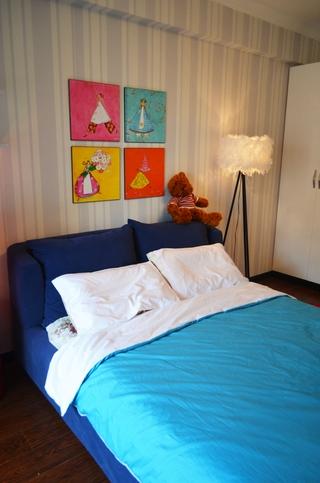 108平简约质感三居欣赏儿童房设计