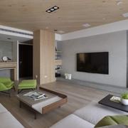 奢华新中式电视背景墙设计