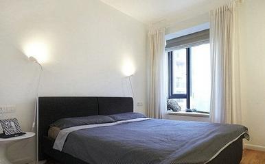 82平现代婚房两居室欣赏卧室灯