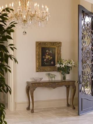 豪华法式风格装饰套图玄关摆设