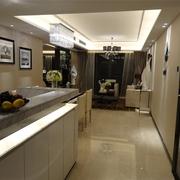 现代客厅吧台设计效果图 极致空间